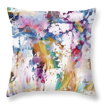 There Is Still Beauty To Behold Throw Pillow by Margie Chapman