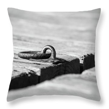 Throw Pillow featuring the photograph There by Karol Livote