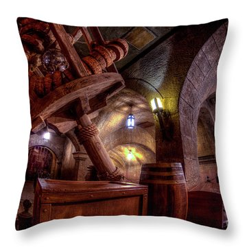 There Will Be Pirates Throw Pillow