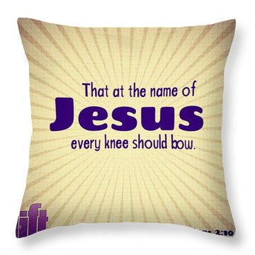 Therefore If You Have Any Encouragement Throw Pillow