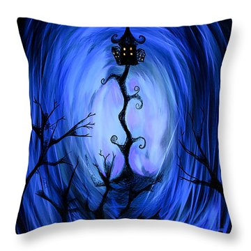 There's A Light Throw Pillow