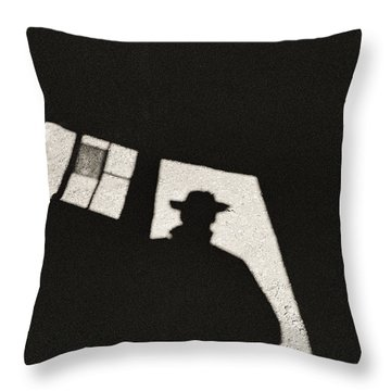There's A New Sheriff In Town Throw Pillow
