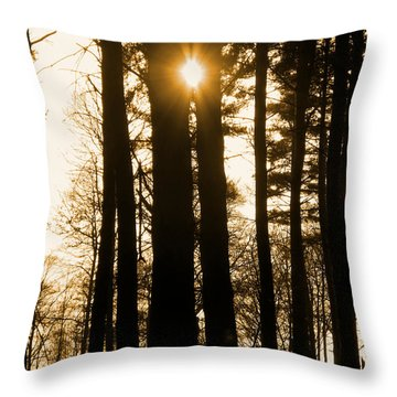 There's Always The Sun Throw Pillow