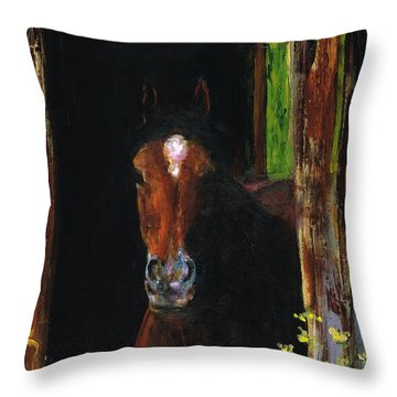Theres Bugs Out There Throw Pillow