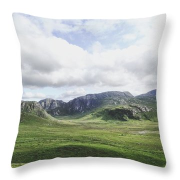 There's No Green Like Ireland's Green Throw Pillow