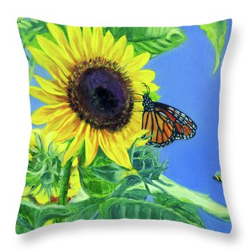 There's Room For Everyone At The Table Throw Pillow