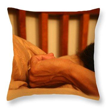 Theresa's Hand Throw Pillow