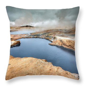 Thermal Activity Throw Pillow
