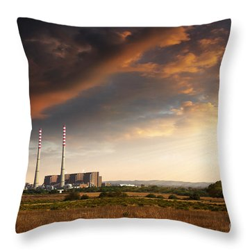Greenhouse Gas Throw Pillows