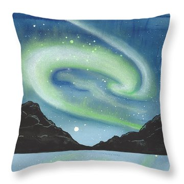 Thermosphere Throw Pillow