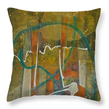 These Bones Live  Throw Pillow