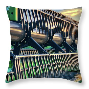 Throw Pillow featuring the photograph These Teeth Mean Business by Mark Dodd