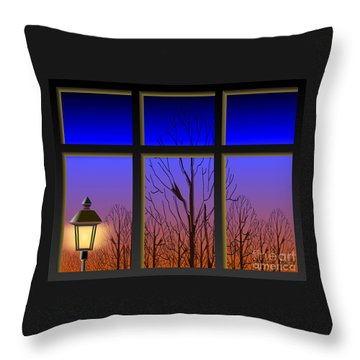 The Window II Throw Pillow