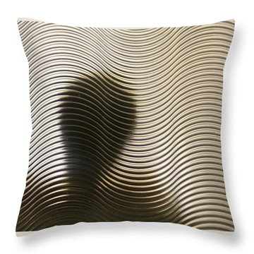 They Are Here Throw Pillow