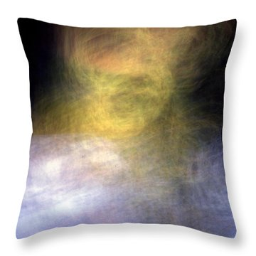They Are Watching Us Throw Pillow by Steven Huszar