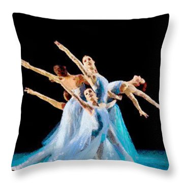They Danced Throw Pillow