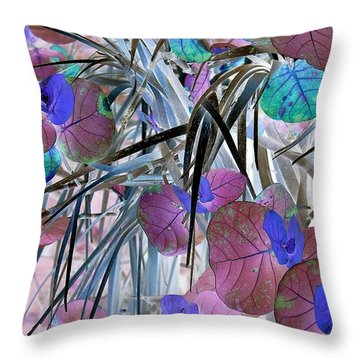 Thick And Thin Throw Pillow