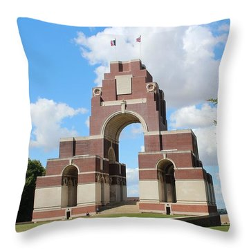 Thiepval Throw Pillow