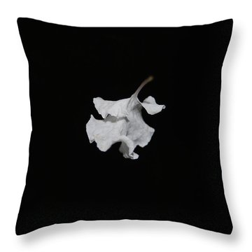 Throw Pillow featuring the photograph Thin Air by Maggy Marsh