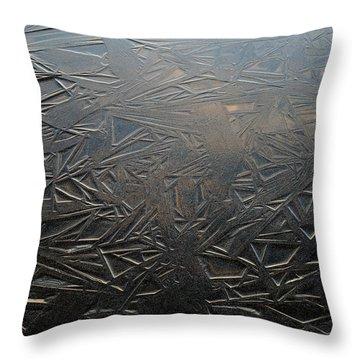 Thin Dusk    Throw Pillow