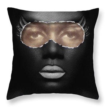Thin Skinned Throw Pillow