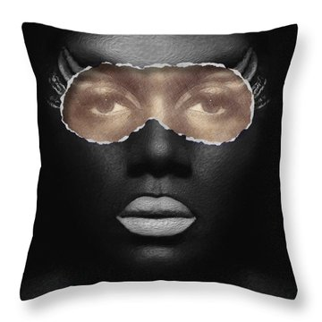 Thin Skinned Throw Pillow