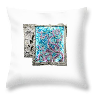 Things Of The Sea Throw Pillow