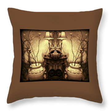 Things Of Which All Witches Dream Throw Pillow