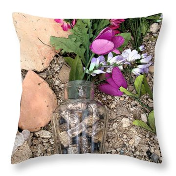Things Remembered Terlingua Cemetary Throw Pillow