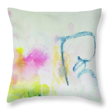 Think About Throw Pillow