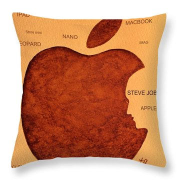 Think Different Steve Jobs 2 Throw Pillow
