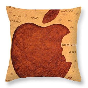 Think Different Steve Jobs  Throw Pillow