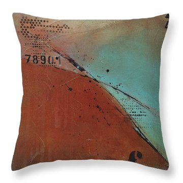 Think It Throw Pillow