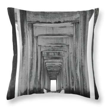 Think Outside Of The Box Throw Pillow