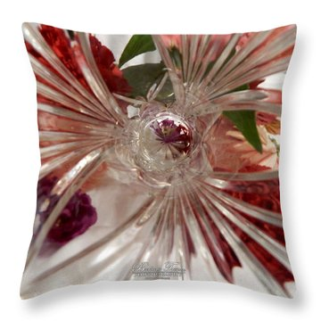 Think Outside The Vase #8801_0 Throw Pillow by Barbara Tristan