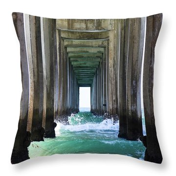 Thinking Outside Of The Box Throw Pillow