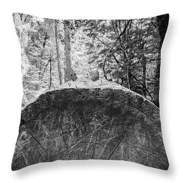 Thinking Tree- Throw Pillow