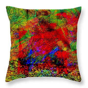 Thinking Throw Pillow