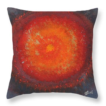 Third Eye Original Painting Throw Pillow