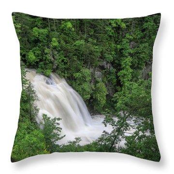 Third Falls Throw Pillow