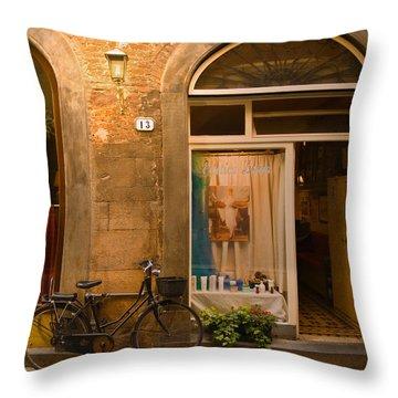 Thirteen Throw Pillow by Mick Burkey