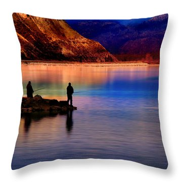 This Bud's For You Throw Pillow by John Poon