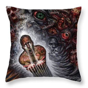 This Cant Be Real Throw Pillow