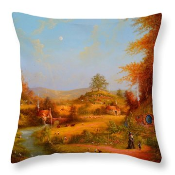 This Could Spell Trouble. Throw Pillow