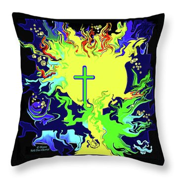 This Do In Remembrance Of Me Throw Pillow