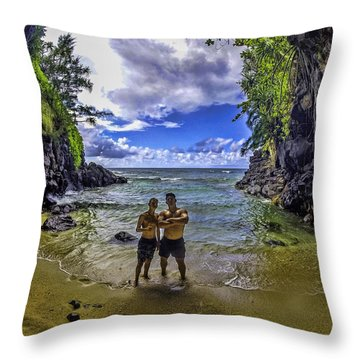 This Doesn't Look Like Kansas Throw Pillow by Gordon Engebretson
