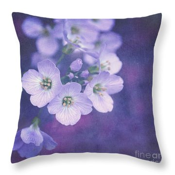 This Enchanted Evening Throw Pillow by Lyn Randle