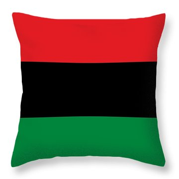 This Flag Is Mine Throw Pillow