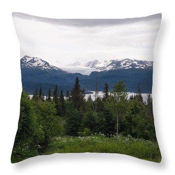 This Is Alaska Throw Pillow