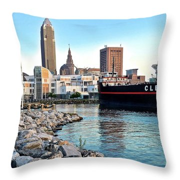 This Is Cleveland Throw Pillow